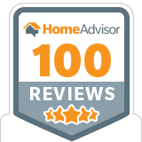 HomeAdvisor – 100 Reviews
