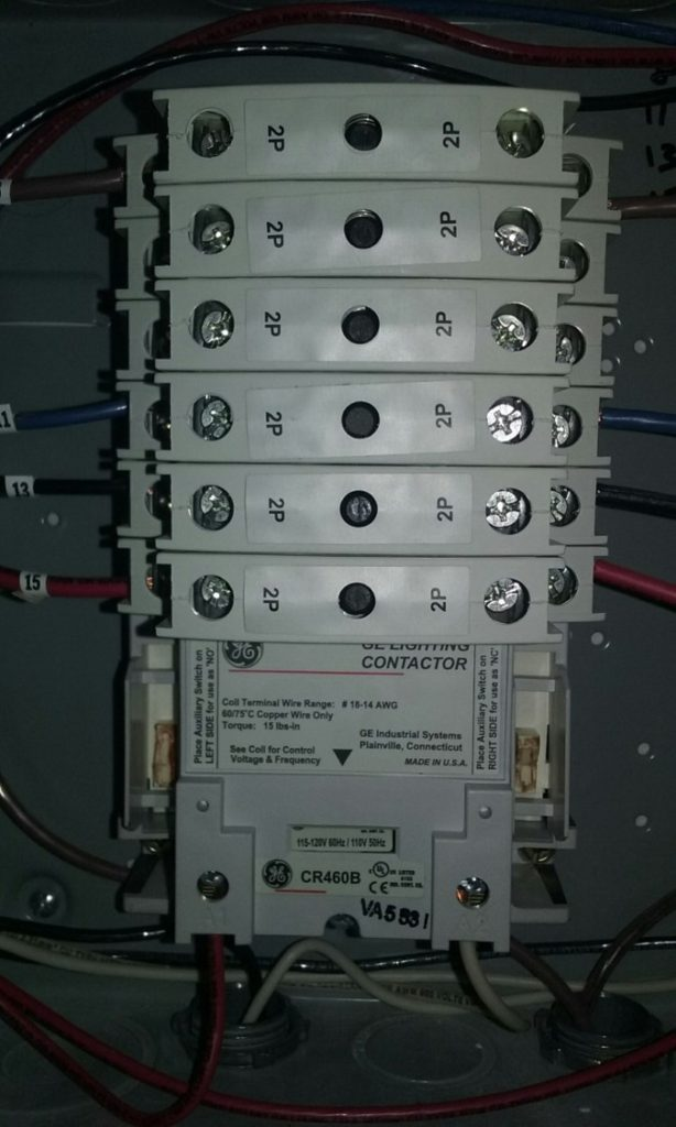 Lighting Contractor Kansas City Electrical Panel Open