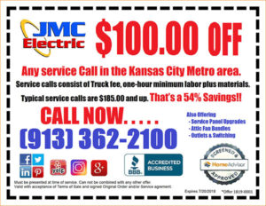Electrical Service Coupon Kansas City