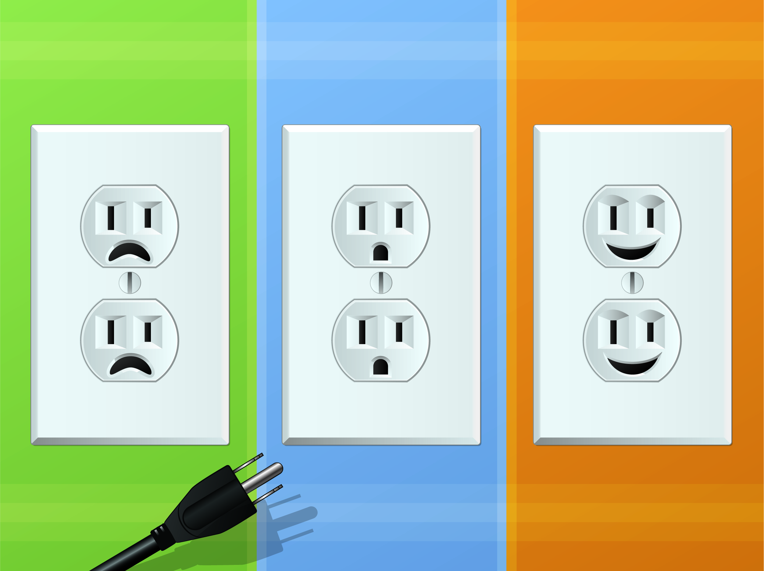 Residential electrical outlet Kansas City with JMC Electric has many options.