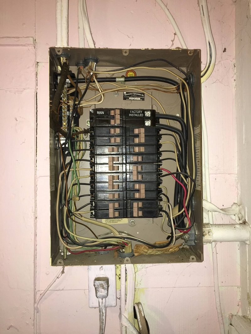 A residential electrical panel can be inspected and installed by JMC Electric.