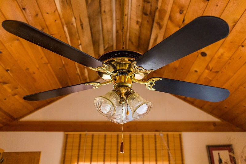 Residential ceiling fan installation is safer and less expensive when done by JMC Electric.