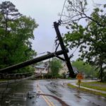 Residential local electricians can help with storm damage.