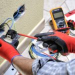 Residential home electrician Kansas City JMC Electric offers services for new construction wiring.