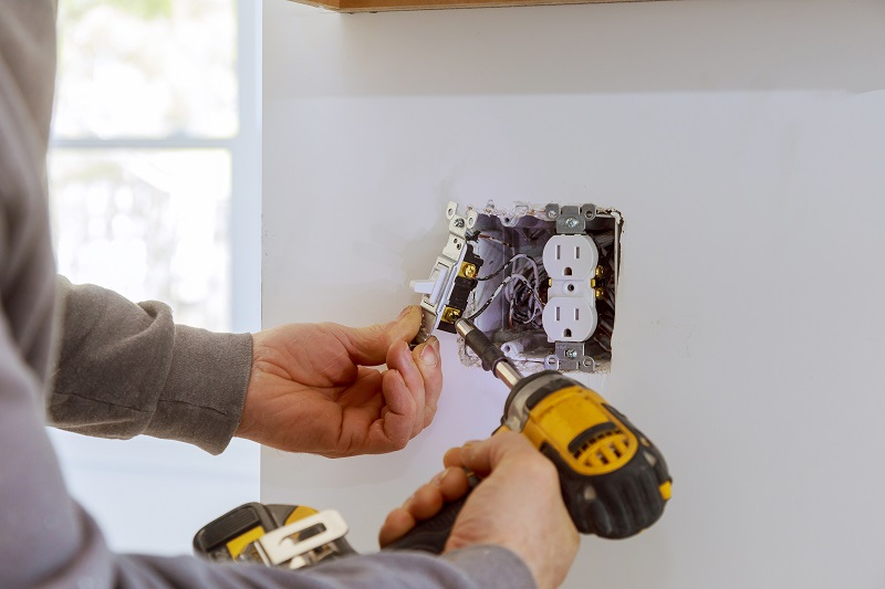 Using a professional home electrician when you build or remodel a home office can save you a ton of money and grief.